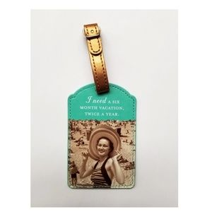 Vintage I Need 6 Months Vacation Luggage Tag